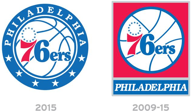 Les Philadelphia Sixers dévoilent leur nouveau logo