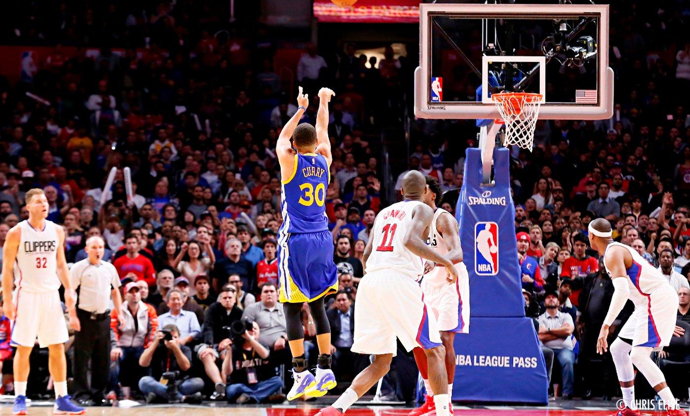 Les Warriors n'ont pas laissé Stephen Curry porter ses nouvelles shoes
