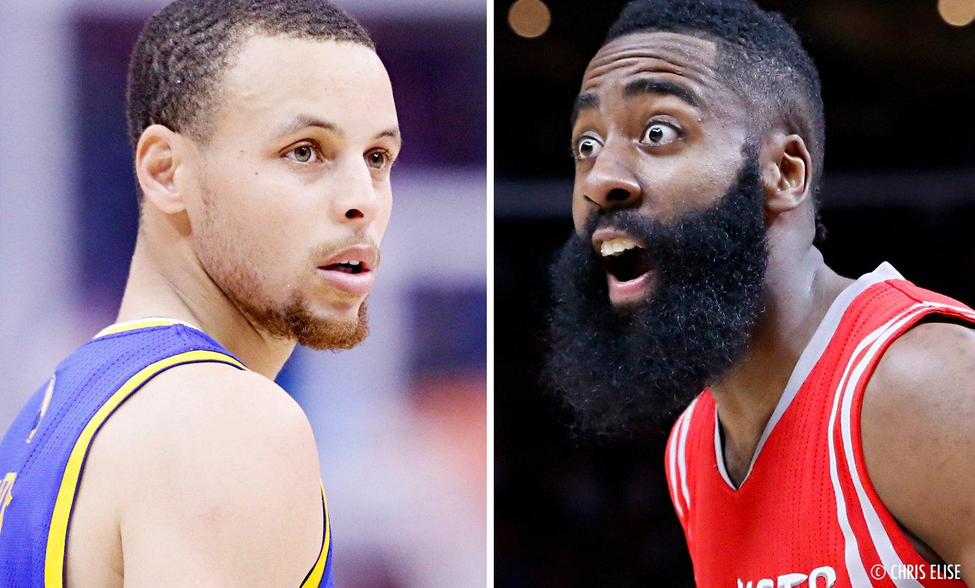 MVP : Stephen Curry choisit James Harden