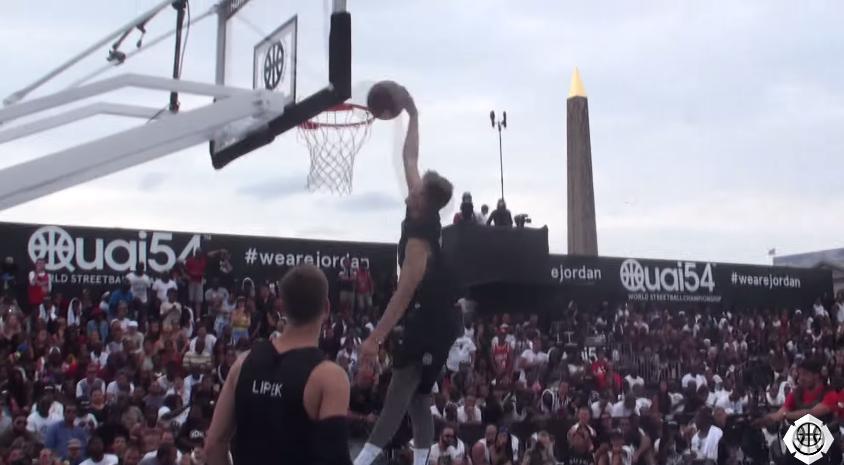 Quai 54 : Comment Lipek a remporté le concours de dunks