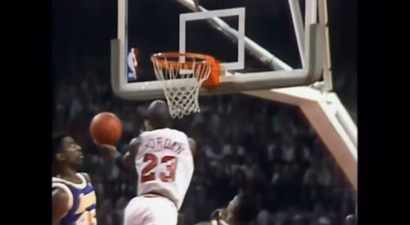 Vintage (05/05/91) : Michael Jordan sortait « The Move » face aux Lakers