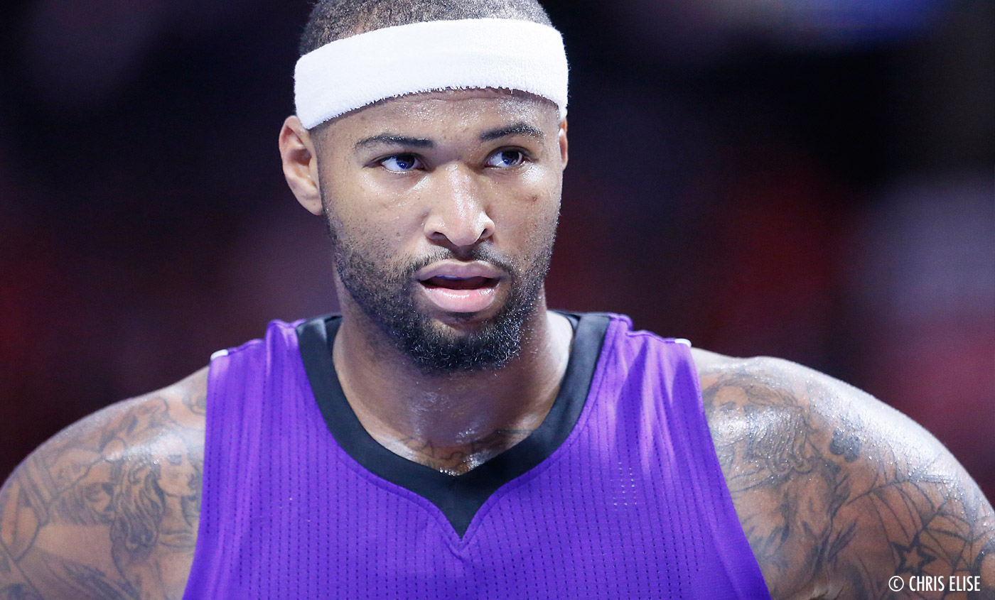 DeMarcus Cousins fracasse des poubelles et taille les arbitres
