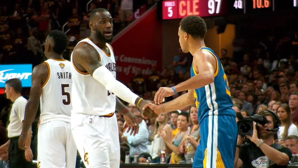 Stephen Curry et LeBron James nominés aux ESPY Awards