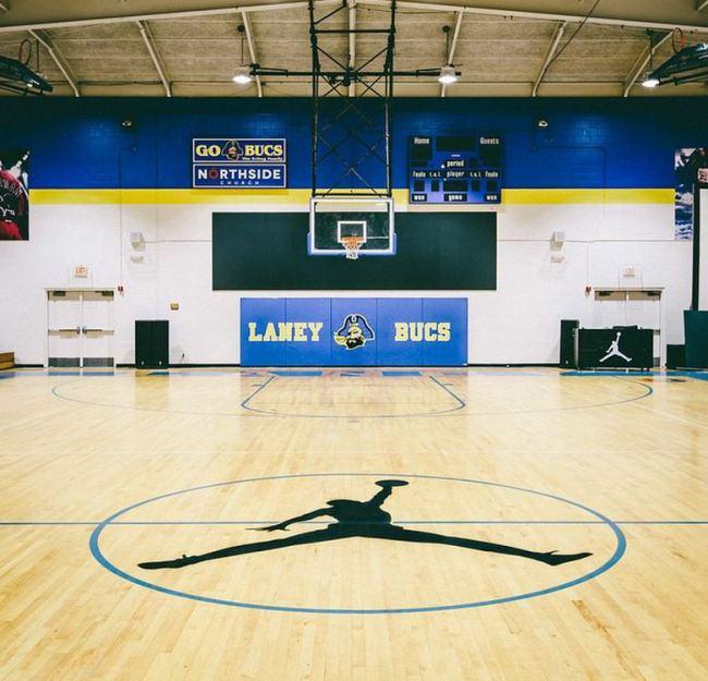 Splendide : Jordan Brand rénove le gymnase de l'ancien lycée de Michael Jordan