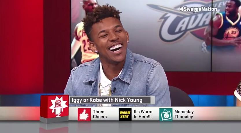 Quand Nick Young confond les lyrics d'Iggy Azalea et ceux de... Kobe Bryant