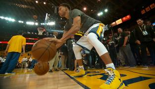 Dribble : travail de coordination par Stephen Curry