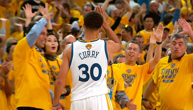 Finales NBA 2015 : Le meilleur de Stephen Curry en mode