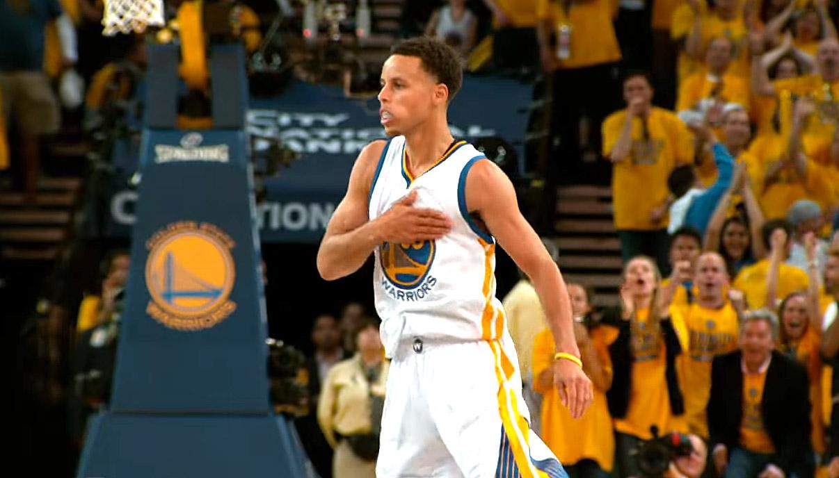 Stephen Curry nommé athlète de l'année aux Etats-Unis