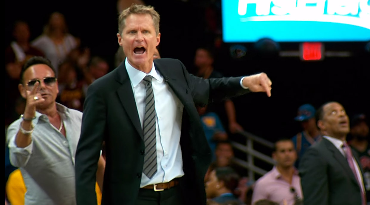 Steve Kerr Golden State Warriors