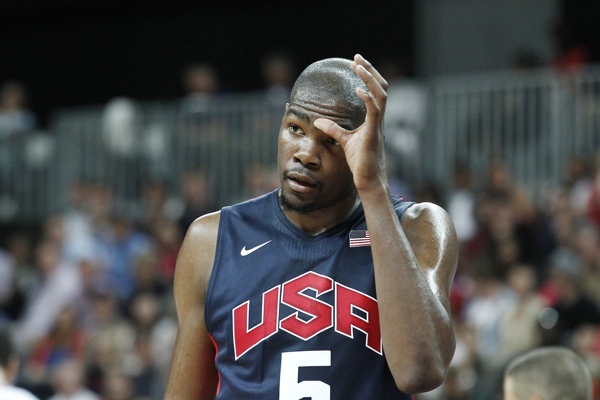 Kevin Durant avec Team USA aux JO, à qui la médaille d'argent ?