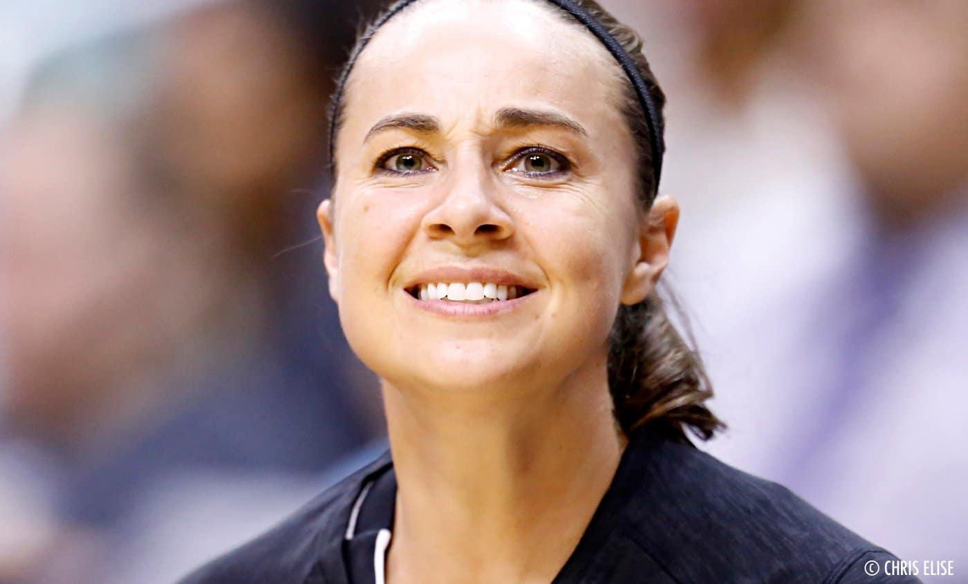 San Antonio retire le maillot de Becky Hammon, bel hommage