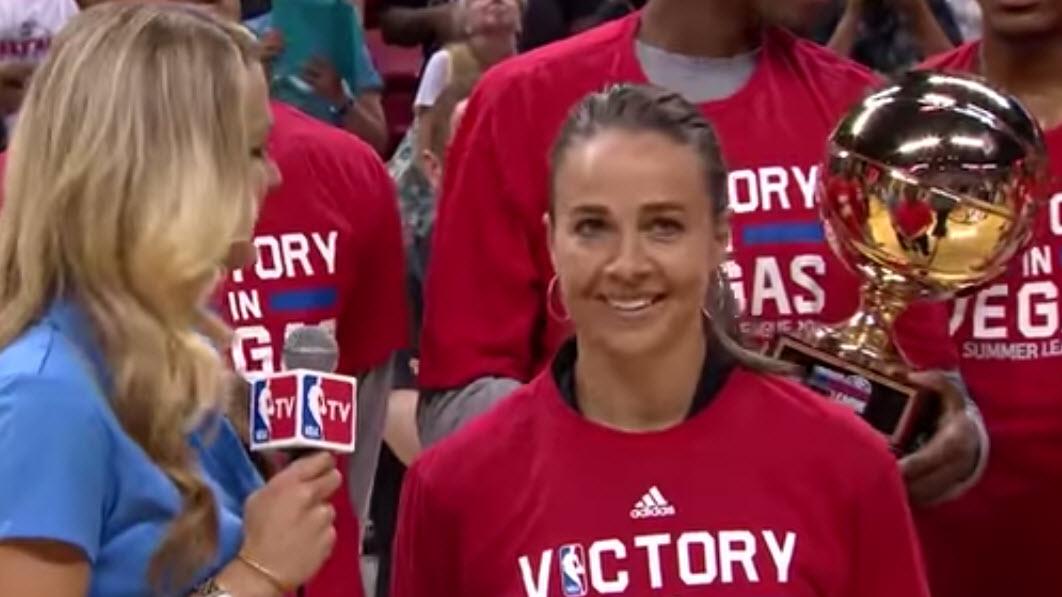 Summer League : Becky Hammon et les Spurs sacrés champions