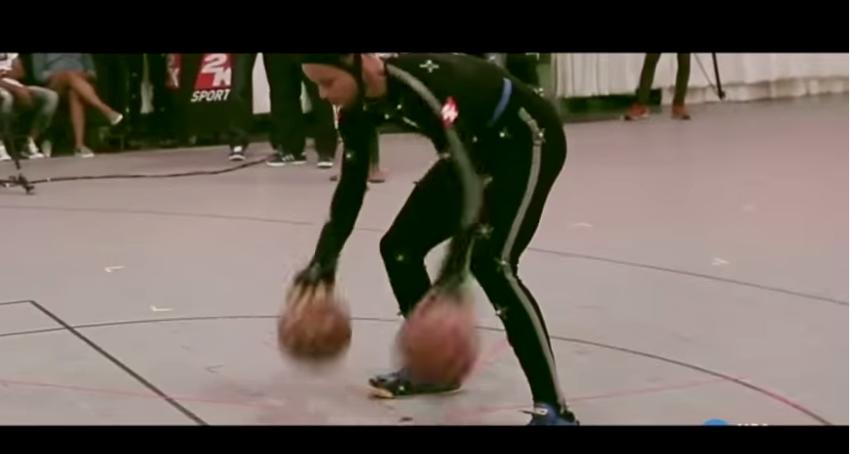 NBA2K16: Quand 2K Sports capture la gestuelle de Stephen Curry