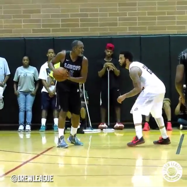 Drew League : A 39 ans, Cuttino Mobley a encore du game