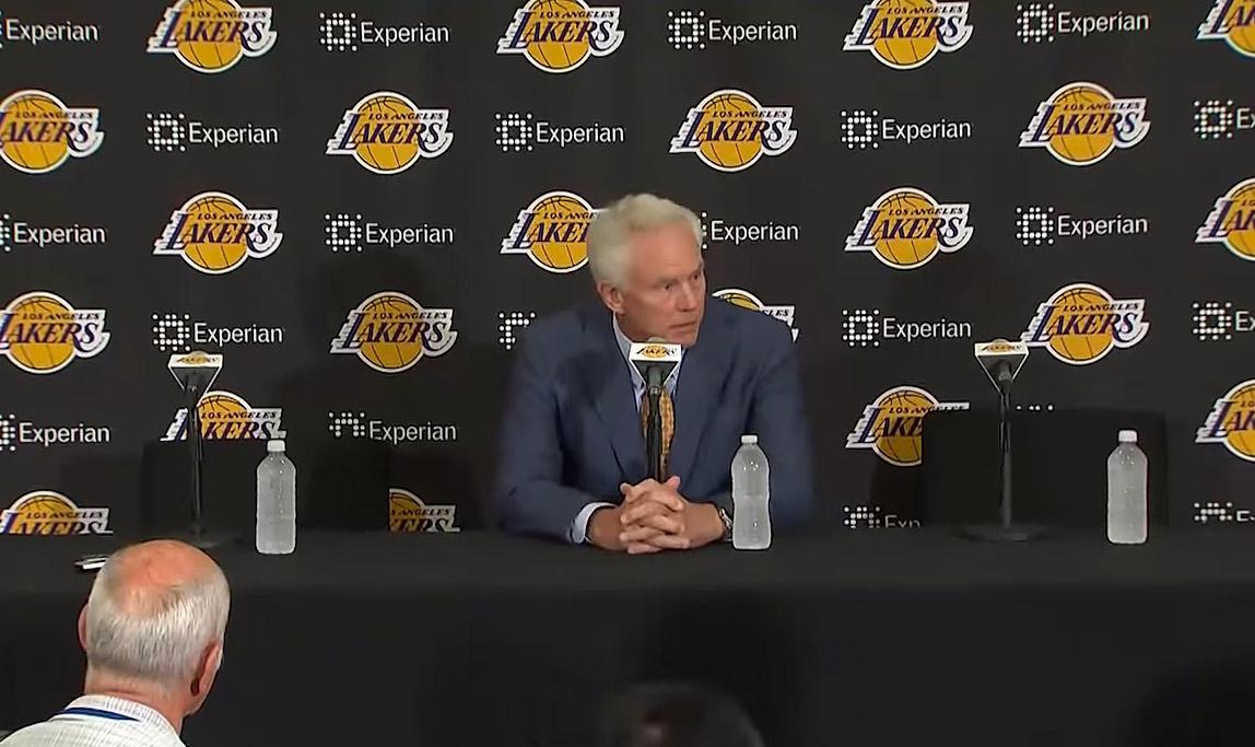 Mitch Kupchak convaincu que les Lakers peuvent jouer les playoffs
