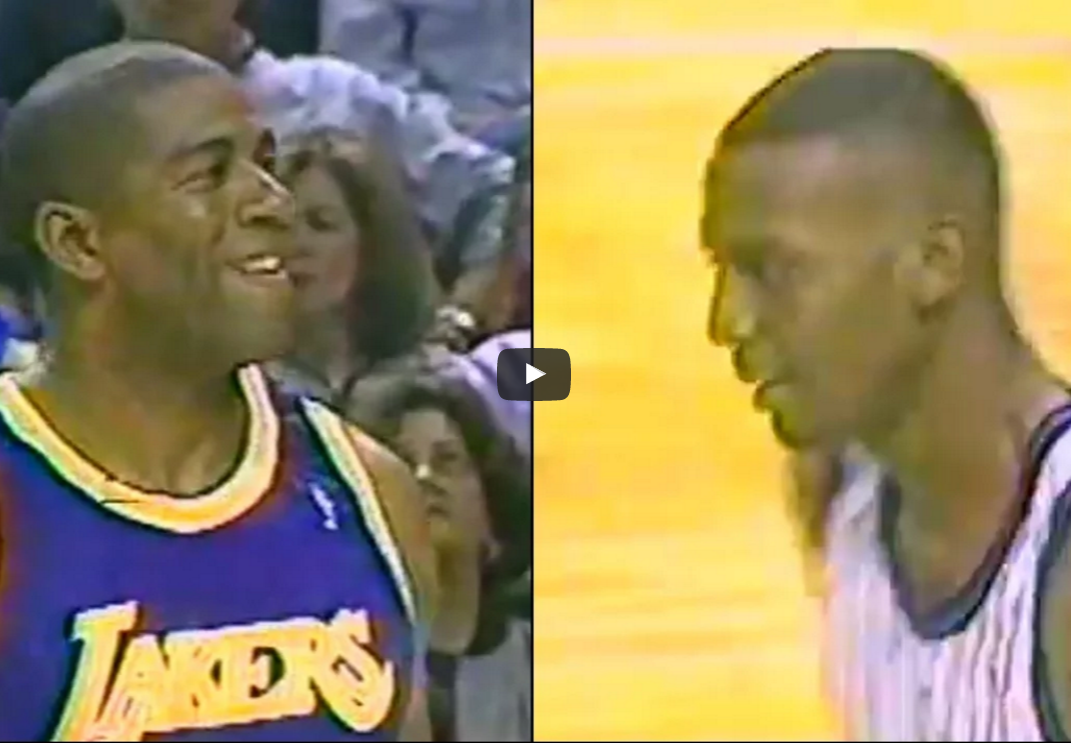Duel vintage : Magic Johnson vs Penny Hardaway