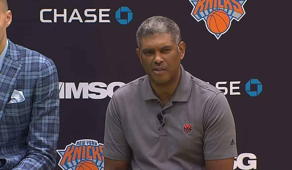 Le Président des Knicks va aussi se faire virer