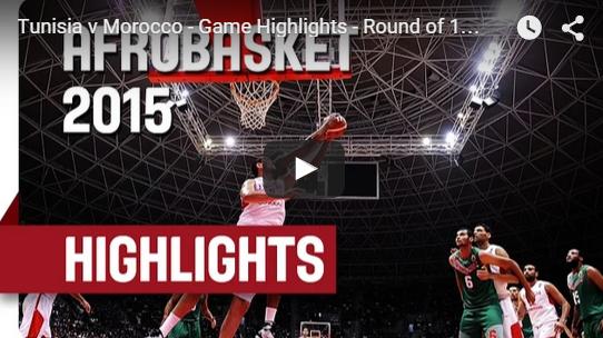 Afrobasket : Fin de match de dingue entre la Tunisie et le Maroc
