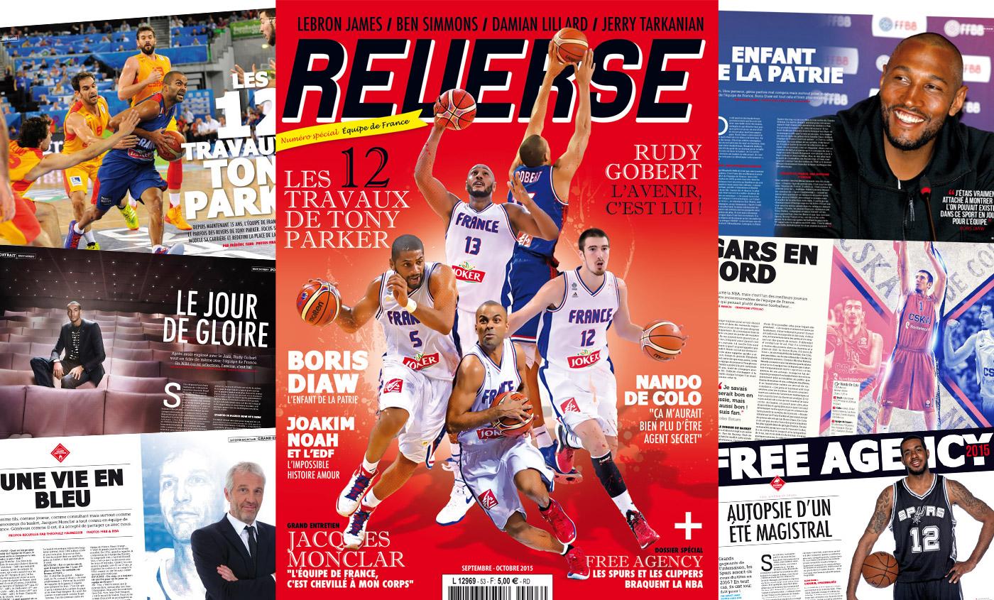 REVERSE 53 spécial équipe de france !
