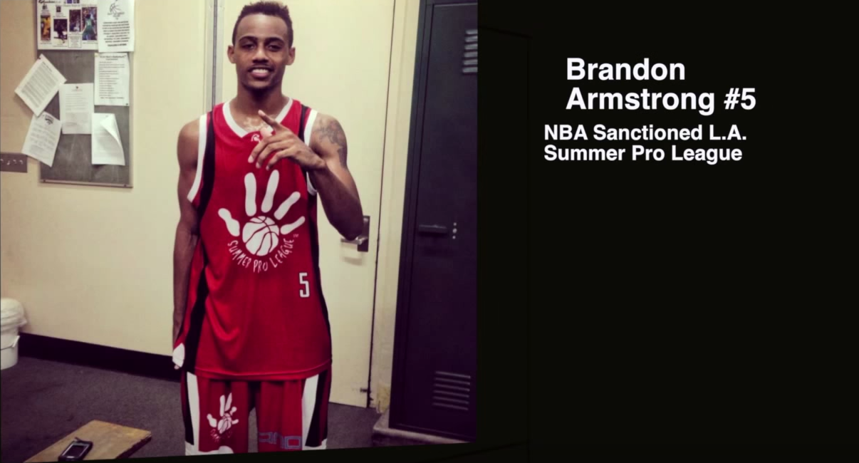Brandon Armstrong n'est pas qu'un imitateur, il a du game !