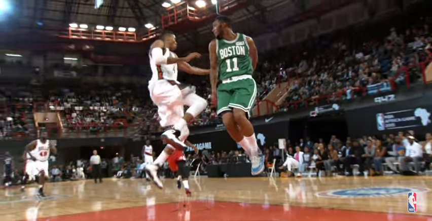 NBA Africa Game : le meilleur de la rencontre en mode Phantom