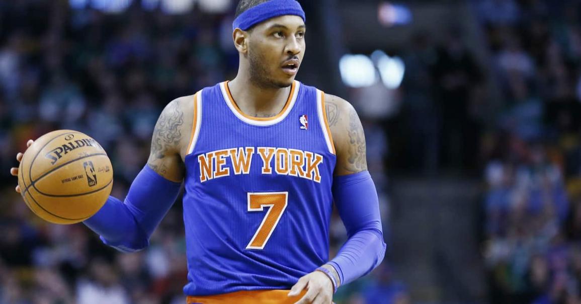 Pourquoi le retour de Carmelo Anthony aux Knicks est très crédible