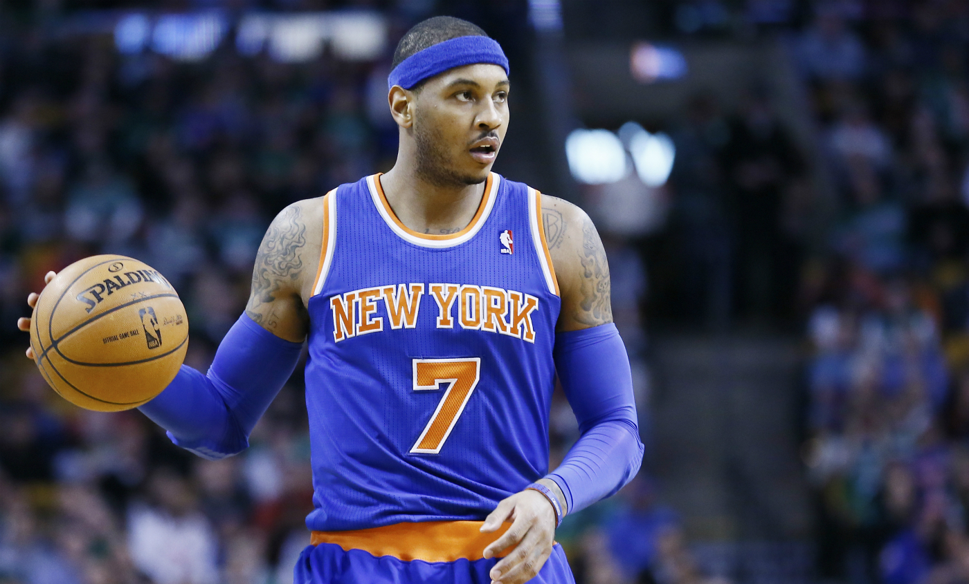 Carmelo Anthony tue les Sixers à 0.3 seconde de la fin !