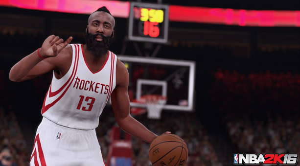 NBA 2K16 : Les visuels de Stephen Curry, Anthony Davis et James Harden