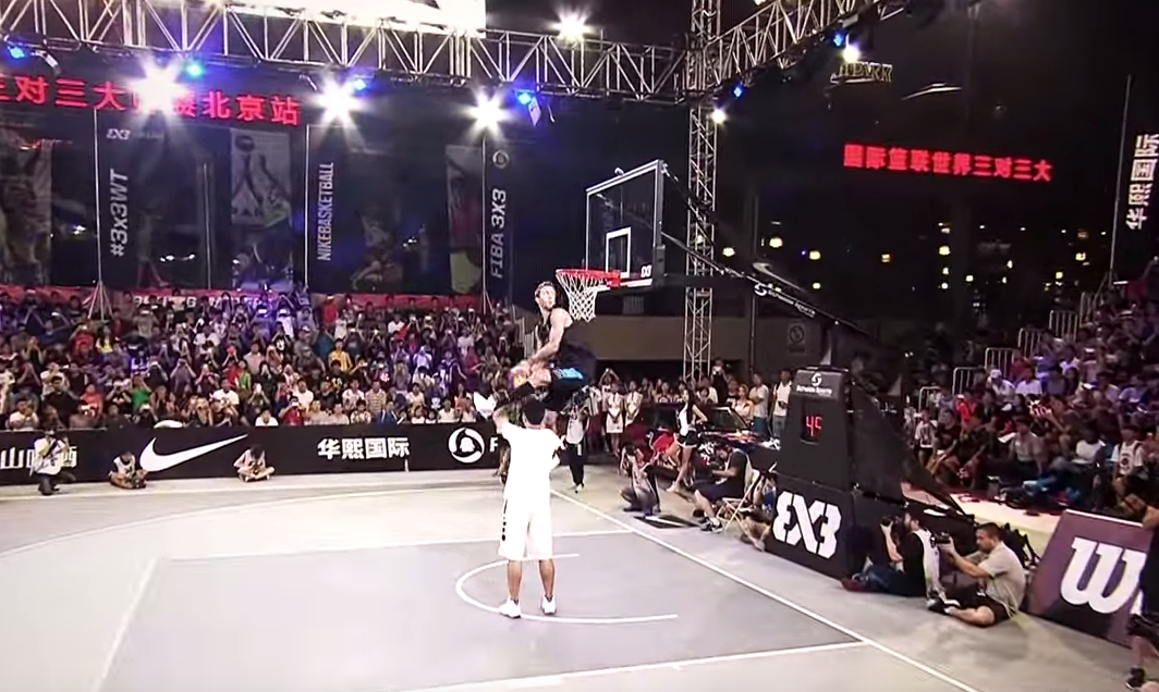 Jordan Kilganon remporte le Dunk Contest de Pékin