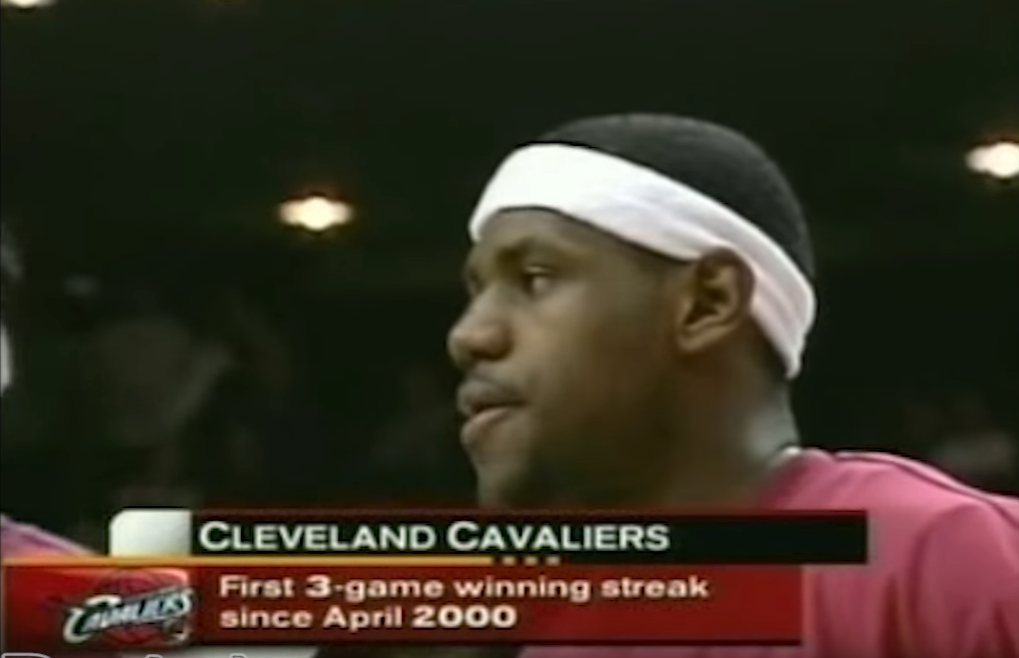 Duel vintage : LeBron James vs Tracy McGrady en 2003