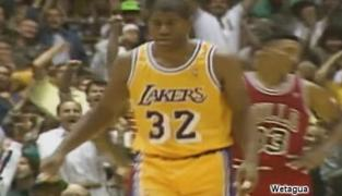 Top 10 du jour : le meilleur de Magic Johnson