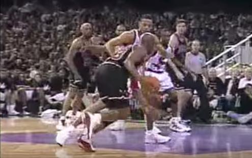 Quand Michael Jordan tuait le match face au rookie T-Mac