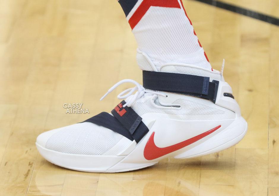 Par De Les Usa Team Joueurs Chaussures Portées knOP80w