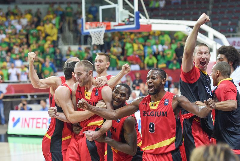 La Belgique domine l'Ukraine et accède aux 8è de finale