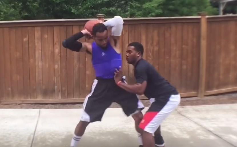 Génial : Brandon Armstrong parodie Carmelo Anthony
