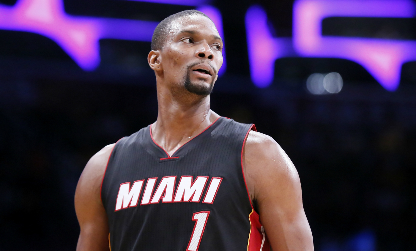 Chris Bosh en veut à Pat Riley