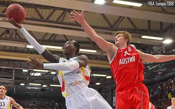 Eurobasket 2015 : L'Allemagne se fait peur contre l'Islande