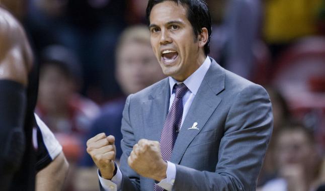 Erik Spoelstra va coacher le Heat pendant encore longtemps