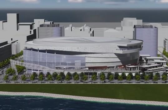 Les Golden State Warriors dévoilent leur future salle