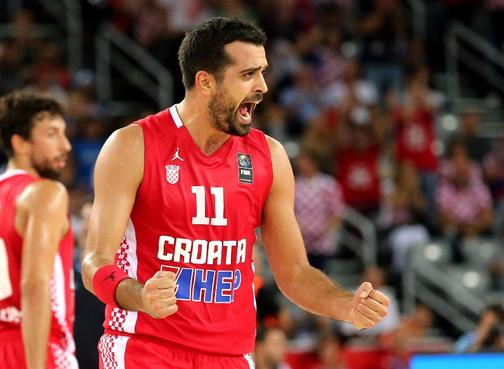 La Croatie d'un bon Saric déroule face à la Macédoine