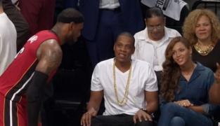Dr Glass : «Beyonce a clairement le béguin pour LeBron James»