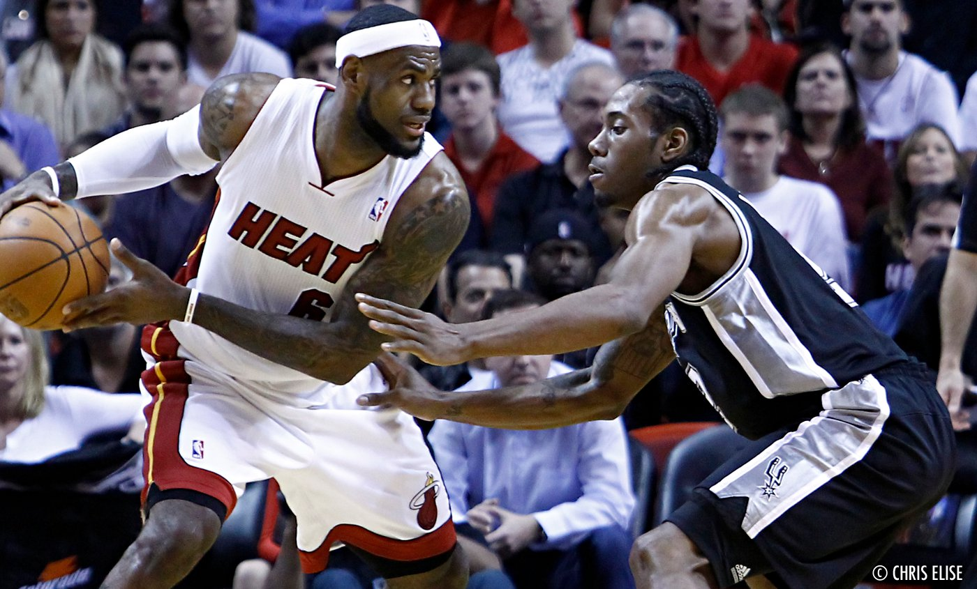 Flashback : LeBron James VS Kawhi Leonard en finales 2014