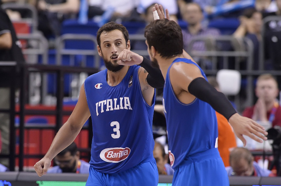 Gallinari et Belinelli envoient l'Italie en 8ème