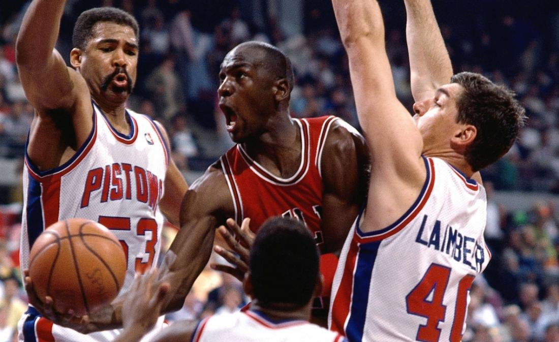 Les «Jordan Rules» des Pistons dévoilées dans «The Last Dance»