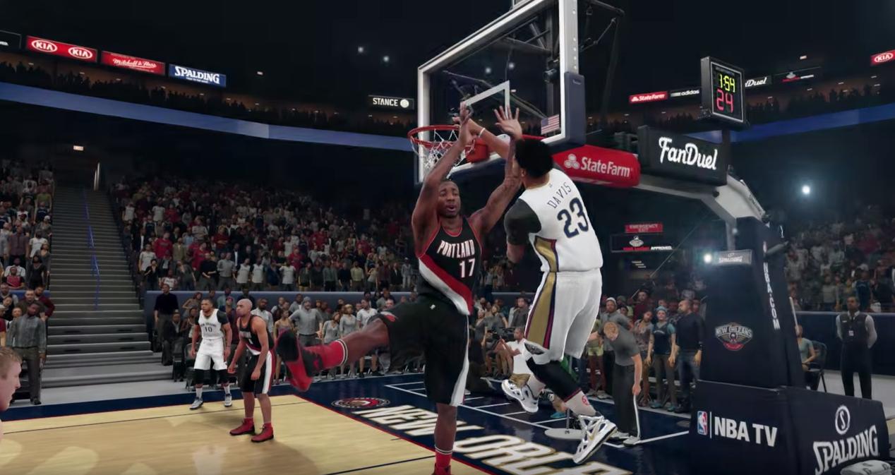 NBA 2K16, le nouveau trailer phénoménal