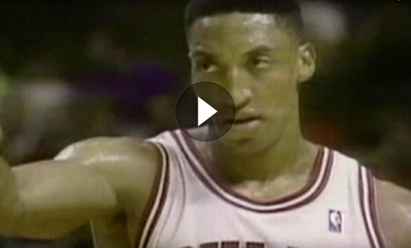 Vintage : Quand Pippen, Jordan et Rodman terrorisaient la NBA