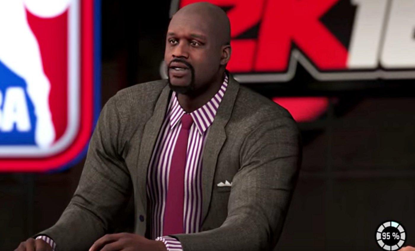 NBA 2k16 : Shaq et le crew TNT plus vrais que nature