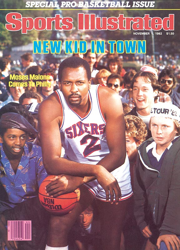 Sports Illustrated Moses Malone