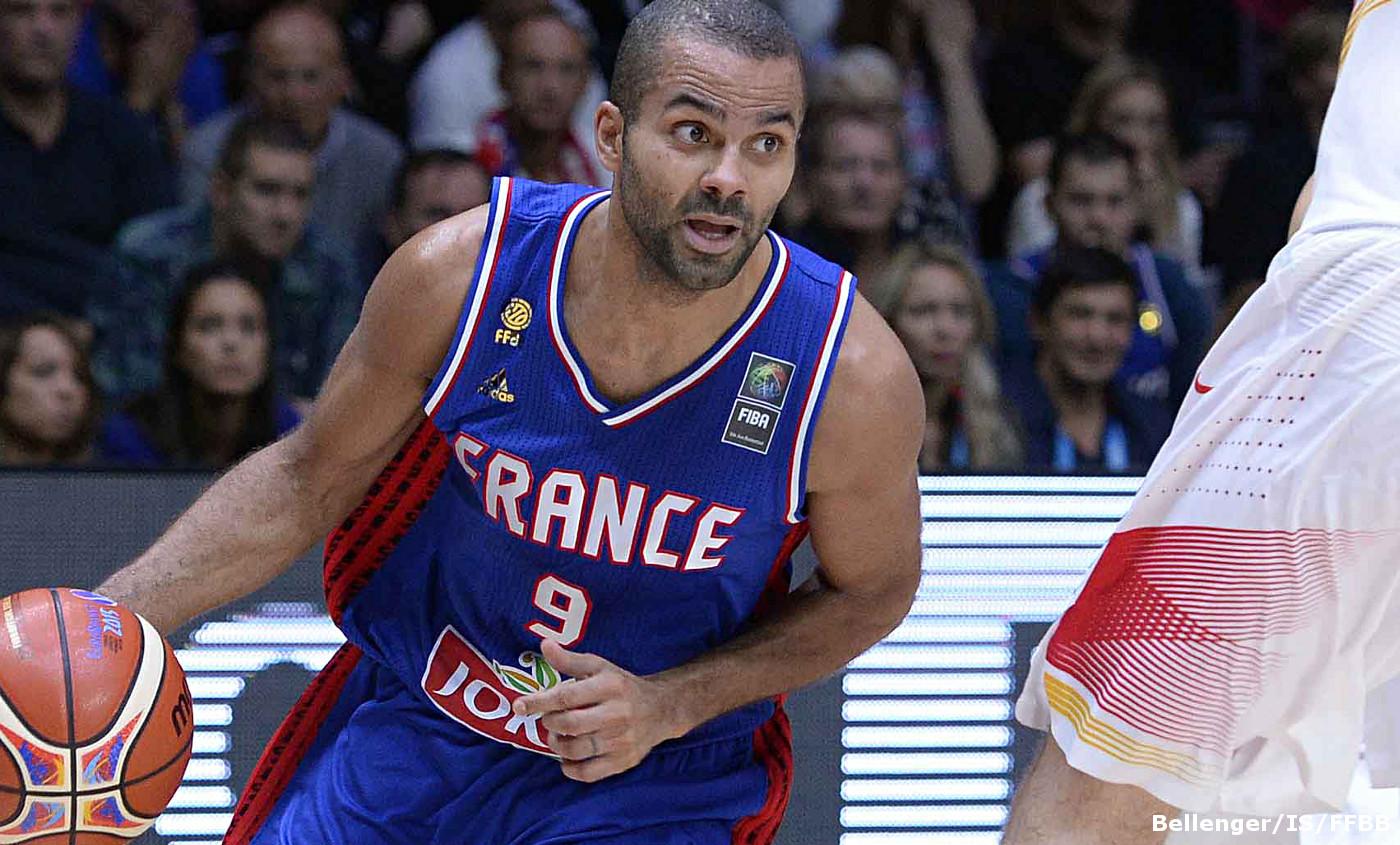 Tony Parker - Equipe de France - Jeux Olympiques 2016