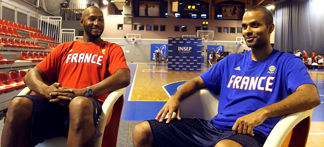 Interviews : INSEParables - Tony Parker & Boris Diaw